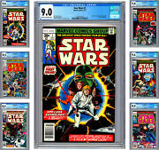 Star Wars 1-6 Cgc Vf-nm Star Wars A New Hope Complete Movie Adaptation 1977