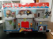 Brand New Vintage 1998 Fisher Price Great Adventures All-in-one Castle Complete