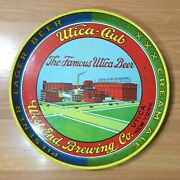 Vtg West End Brewing Co. Utica Club Ny Amer. Can Co Brewery Factory Beer Tray