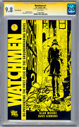 Watchmen 1 Cgc-ss 9.8 Signed By Dave Gibbons Nyc Comic Con Movie Exclusive 2009