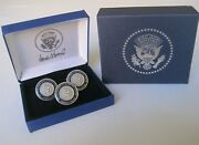 Collectible High-quality Donald Trump Presidential Cufflinks And Lapel Pin