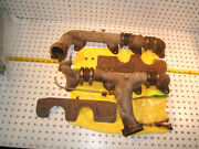 Mercedes 1977 Late R107,w116 4.5l V8 L And R Exhaust 2 Manifolds And Shields,type 2
