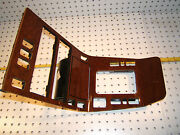 Mercedes Late W140 Front Center Console 1 Piece Calyptus Wood 1 Cover And Ashtray