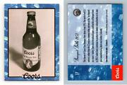 Banquet Bottle 1953 17 Coors 1995 Coors Brewing Trading Card