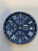 Genuine Breitling Crosswind Dial Blue Pre Owned Mint Condition