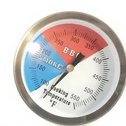 Dozyant 3 Bbq 2 Pack Thermometer Temperature Gauge Charcoal Grill Pit Smoker