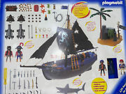 Playmobil 3029 Pirate Ship Adventure Set New In Box - Missing All 3 Sails