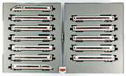 Kato N 10-1512a + 10-1513a - Complete Train Set Ice 4 Db Br412 12 Cars - New