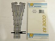 Ho Scale Walthers Code 83 2.5 Wye Turnout New Old Stock