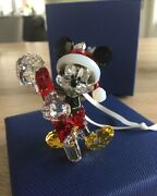 ,2016 Mickey Mouse Christmas Ornament, With Candy Cane. Art No 5135938