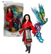 Disney Mulan Limited Edition Live Action Doll 17'' Deluxe Set 2020 Brand New