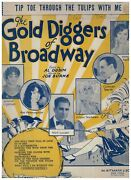 Tip Toe Through The Tulips With Me Gold Diggers Of Broadway Sheet Music