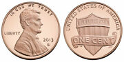 2013 Proof Lincoln Penny L From Us Mint Proof Set Cp10442