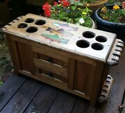 Rod And Reel Cabinet With Side Rod Racks Fly Fishing Rods Trout Reels Lures