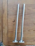 Stainless 1 X 24 Lifeline Stanchions Sold As A Pair