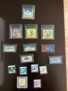 Gameboy Color/ Advance/ Ds Lot Not Tested Super Mario World Pokemon Pinball