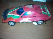 Vintage Wind Up Race Car Made In Greece Very Good Condition Operative Lancia