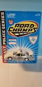 Road Champs 6431 Rhode Island State Police Car 143 Scale Diecast Metal Model