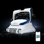 Dolphin Sigma Robotic Pool Cleaner With Bluetooth And Massive Top-load 50 Feet.