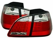 Clear Led Tail Lights For Bmw E61 5 Series Station Wagon 6/2003-3/2007