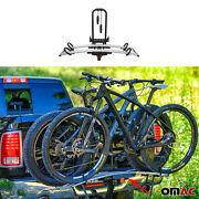 Hitch Mounted Foldable Bike Rack 2 Bicycle Carrier 2andrdquo Receiver For Car Truck Suv