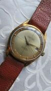 Cristal Watch Perpetua Swiss Vintage Men's Wrist Watches Gold Plated Automatic