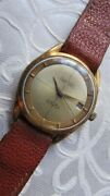 Cristal Watch Perpetua Swiss Automatic Vintage Men's Wrist Watches Goldplated