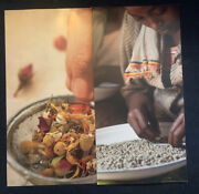 Vintage 2011 Starbucks Store Advertising 2 Double Sided Posters Coffee Tea 44x22