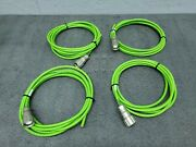 Lot Of 4 - Awm Style 20236 4x2x0,18 C Cable Nexans Desina W/ Hummel Connector