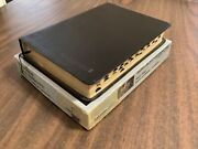 Niv 1984 Thompson Chain Reference Bible Indexed - Black Bonded Leather - Oop 84