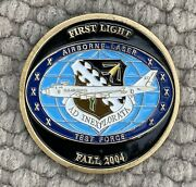 Airborne Laser First Flight Edwards Afb Bc/fc Challenge Coin 1 1/2andrdquo