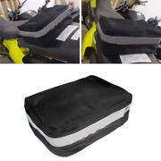Motorcycle Rear Seat Fender Pack Tool Bag For Suzuki Drz 400e 400s 400sm 2000-20
