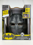 Batman Dc Voice Changing Mask The Caped Crusader 15+ Phrases