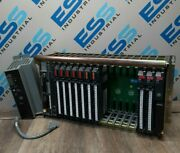 Allen Bradley 1771-a4b 16 Slot I/o Chassis With 12 Slot Cards