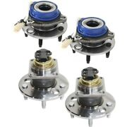 Wheel Hubs Set Of 4 Front And Rear Left-and-right For Olds Le Sabre De Ville Lh Rh