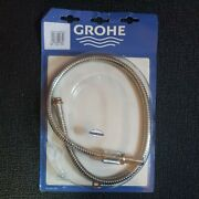 Grohe Shower Hose 46104 Metal 1/2 X M15x 860 For Faucet With Pull-out Spray