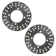 2 Front Disc Brake Rotors Many 1990-1999 Fits Polaris Atvand039s See List For Models