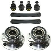 Control Arm Kit For 1994-1999 Dodge Ram 1500 Front Lh Rh Upper 4wd 2-wheel Abs