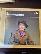 Cavan O'connor Singing A Vagabond Song Signed Lp Decca Acl 1272 Plays Great