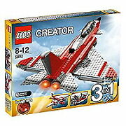 Lego 5892 Creator Sonic Boom Target Age 8-12 Years Old Used Jet 3in1 2light