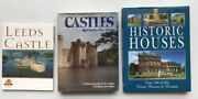 Collection Of 3 Books Castles By Charles, Leeds Castle, Historic Houses