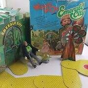 Mego Wizard Of Oz Emerald City Playset W/ Figure Box And Accessories Vintage 1974
