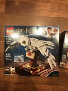 New Lego Harry Potter Hedwig 75979 And Lego Hp Monster Book 30628