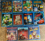 Disney Blu Ray And Dvd Lot Of 11 Movies Gnomeo Cars 2 Cars Mater Tails Bolt