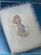 Precious Moments Bible Cover Embroidery Kit Vintage 8x10 Unworked Paragon