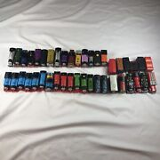 91pcs Lot Of Thomas The Train Motorized Tomy Engines Cars And Small Accessories