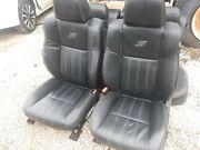 14 Chrysler 300 S Black Leather Front And Rear Seats
