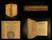 1604 1ed Law Henry Boguet On Burgundian Code Witchcraft And Demonology Cases