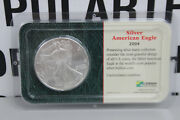 2004 Silver American Eagle Sealed Littleton Coin Company