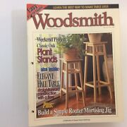 Lot 27 Woodsmith Woodworking Crafts Magazine Back Issues Vol 21-25 1998- 2003